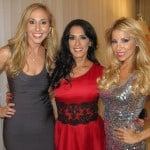 Jeannette Kaplun, Marisa del Portillo y Roxana García en Miami Hair Beauty Fashion 2012 by Rocco Donna