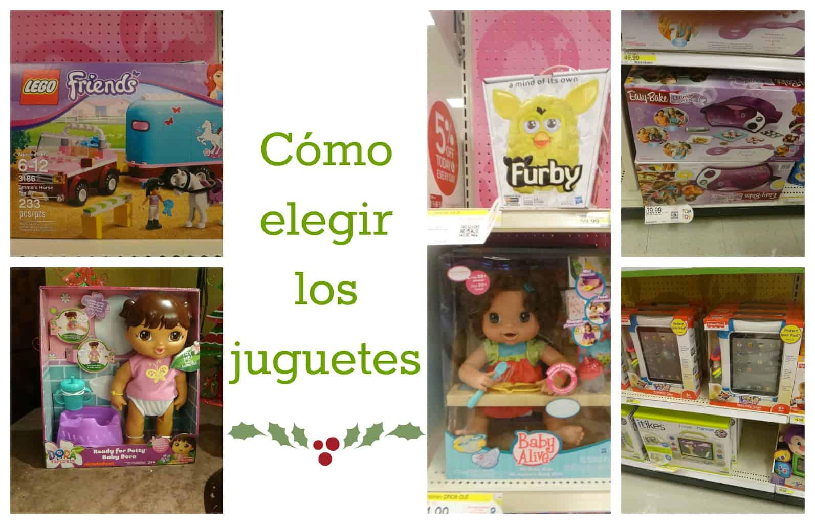 Cómo elegir juguetes para niños