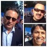 Andy García, Pepe Aguilar y Claudio Suárez