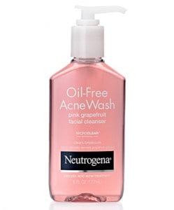Limpiador Neutrogena Oil Free Acne Wash