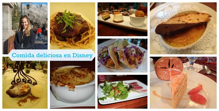 Comer rico en Disneyworld