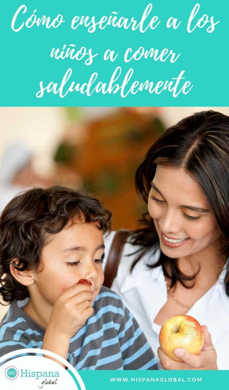 Consejos para que tu hijo aprenda a comer saludablemente