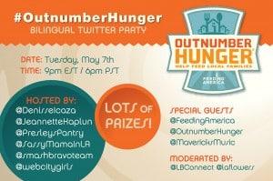 Fiesta por twitter que ayuda a combatir el hambre