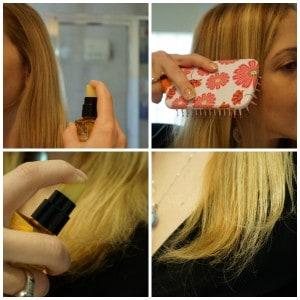 El uso de aceites para el pelo ayuda a dejar el cabello brillante y sedoso