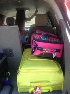 La maletera del Traverse es muy amplia y cómoda.