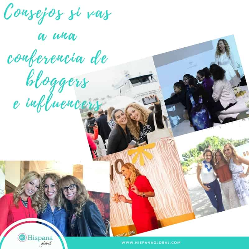 Consejos si vas a una conferencia de bloggers e influencers
