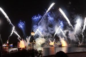 Fuegos artificiales en Epcot