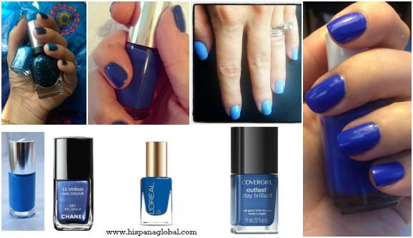 Los Mejores Tonos De Azul En Esmaltes De Uñas Hispana Global