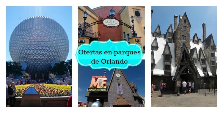 Ofertas en Walt Disney World y Universal Orlando