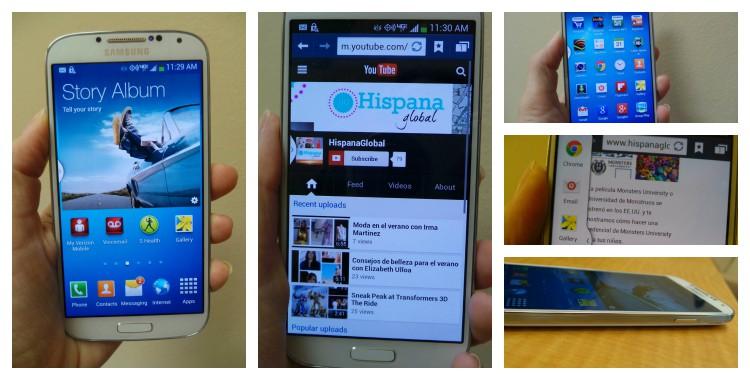 Teléfono móvil inteligente Samsung Galaxy S4