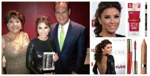 Maquillaje de Eva Longoria en Premios Tu Mundo