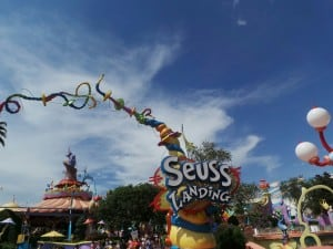 Dr Seuss en Islands of Adventure