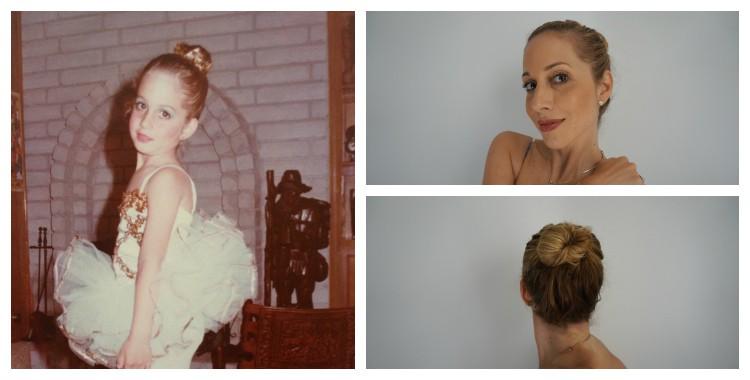 Peinado estilo Ballerina o bailarina TRESThrowback