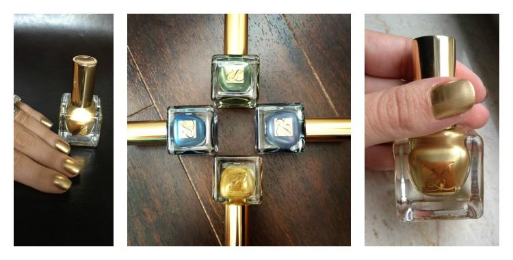 Esmaltes de uñas metálicos
