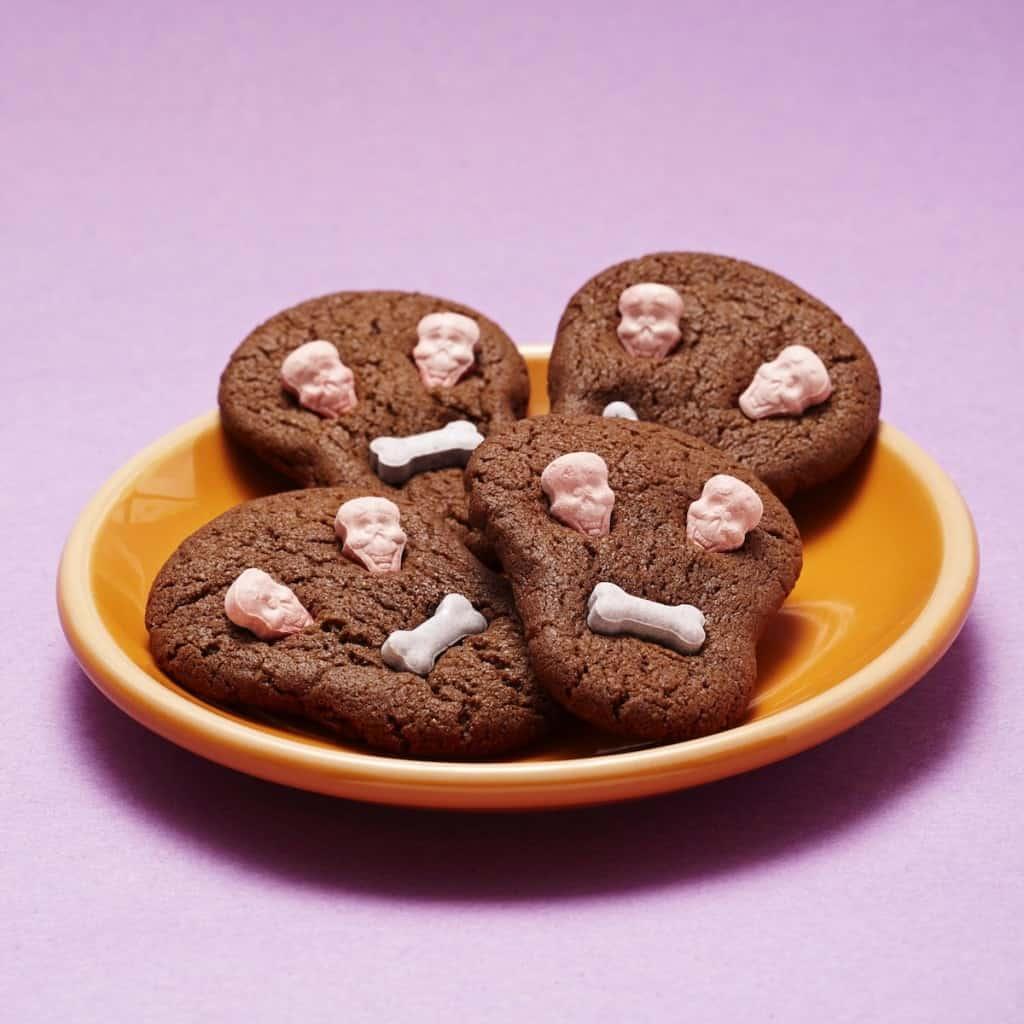 Calaveras de chocolate para el dia de Muertos