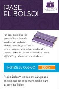 Virtual Purse Code - Spanish