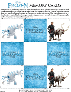frozen memory cards5