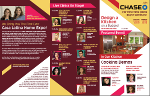 casa latina home expo brochure