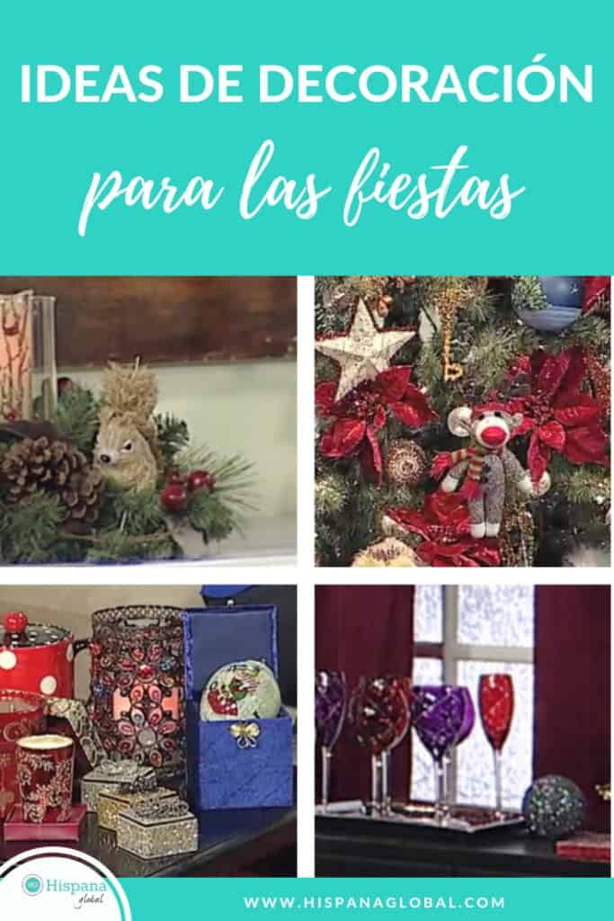 Ideas de decoración para las fiestas de fin de año y la Navidad
