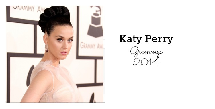 Katy Perry bella en premios Grammy 2014
