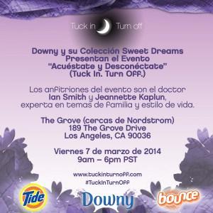 Invitaci'on a evento en Los Angeles de #tuckinturnoff