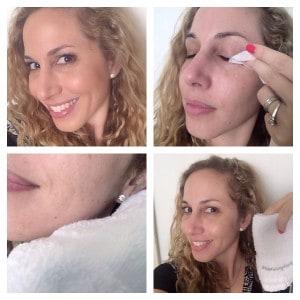 Quita el maquillaje con toallas desmaquillantes como las de Neutrogena