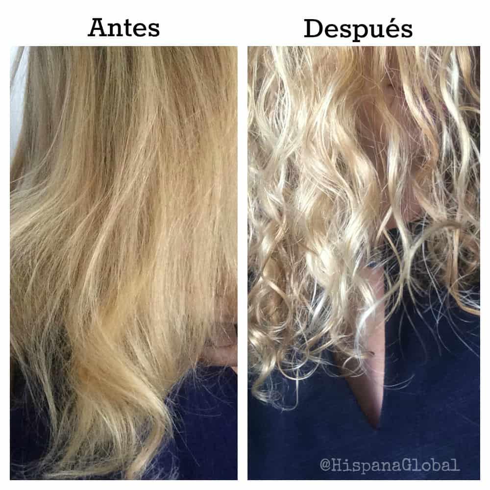 Antes y después de Triple Repair, pelo largo