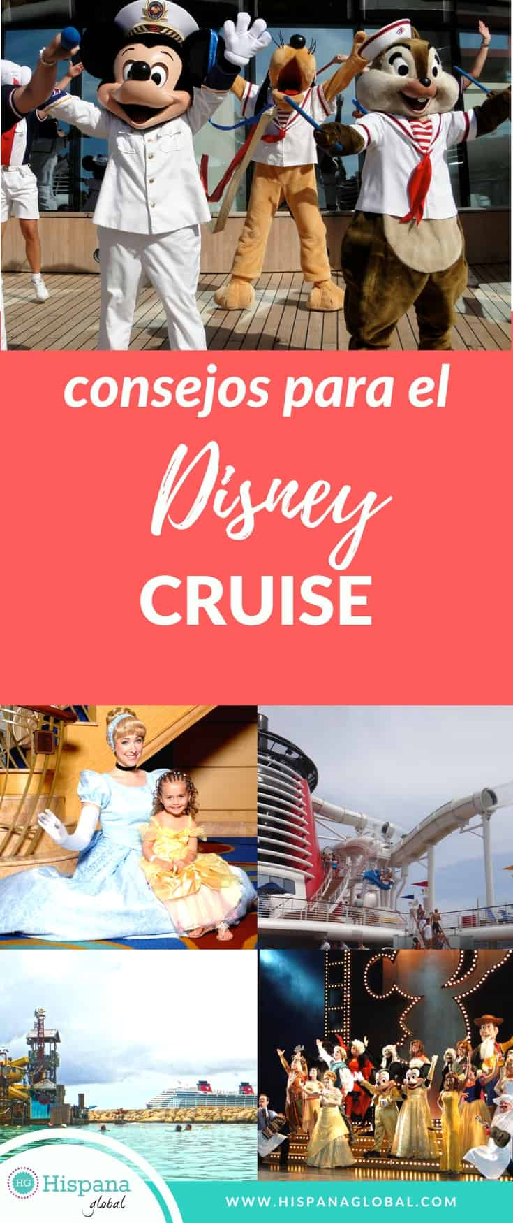 Consejos para crucero Disney