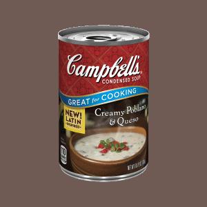 Usa sopa para acortar el tiempo de preparación de esta receta de enchiladas de pollo