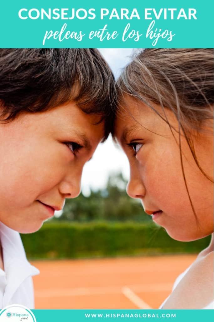 Si tus hijos pelean mucho, descubre tres consejos para evitar las peleas entre hermanos.