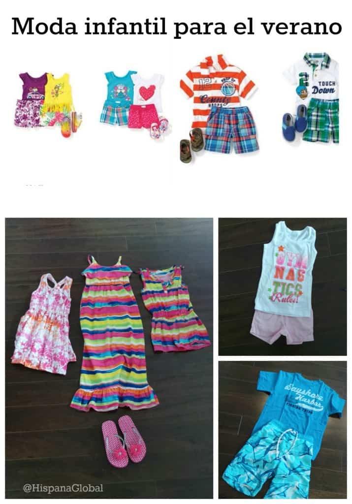 Moda infantil para verano 2014