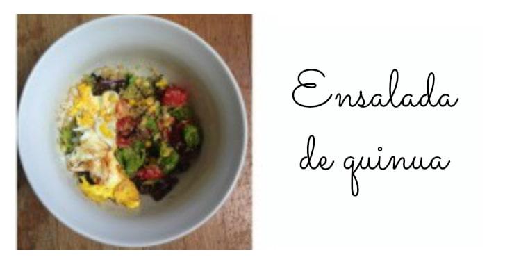 Deliciosa receta de ensalada de quinua (quinoa)