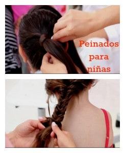 Peinados para niñas en el verano