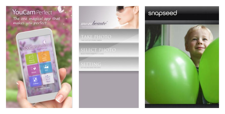 "3 apps gratis para mejorar tus fotos y ""selfie"""