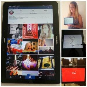 Fotos de la tableta Samsung Galaxy Note 10.1