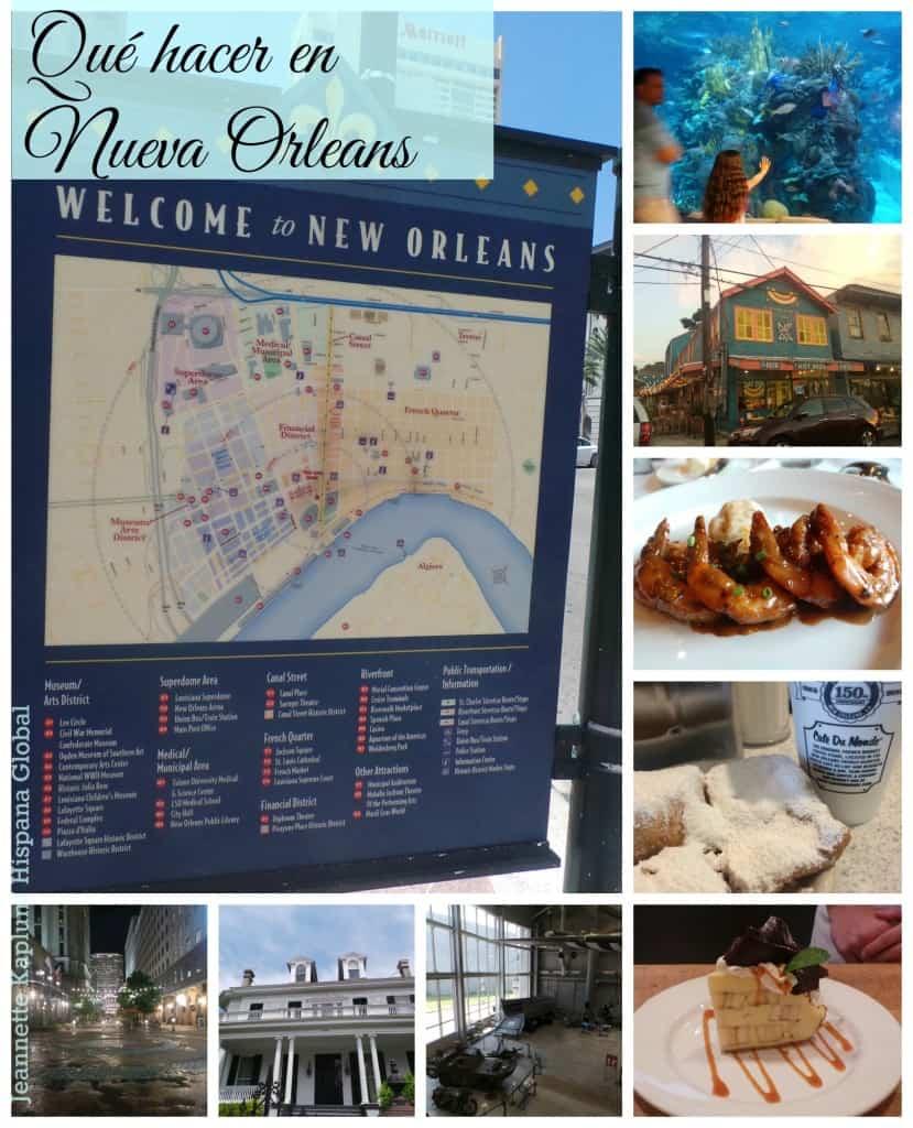 Qué hacer en Nueva Orleans