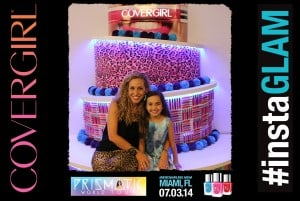 Jeannette Kaplun e hija #instaglam