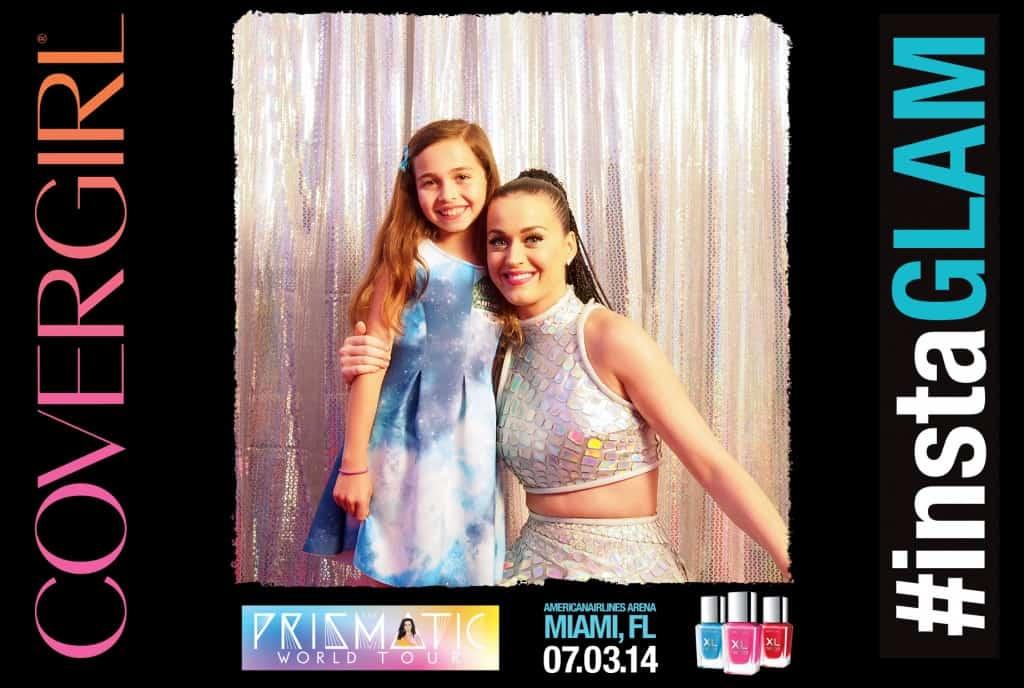 Katy Perry conociendo a mi hija