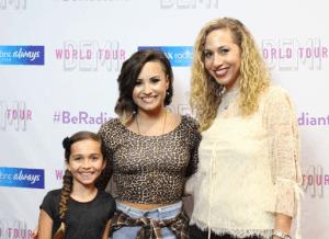 Demi Lovato y Jeannette Kaplun