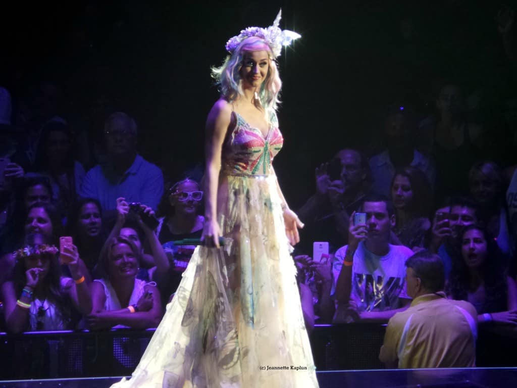 Katy Perry long dress