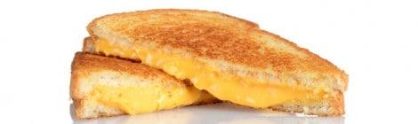 El sándwich de queso caliente