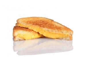 Sándwich de queso caliente