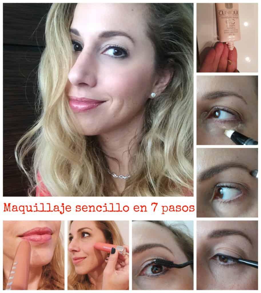 maquillaje sencillo en 7 pasos