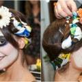 Maquillaje y peinado de Dia de los Muertos y Catrina