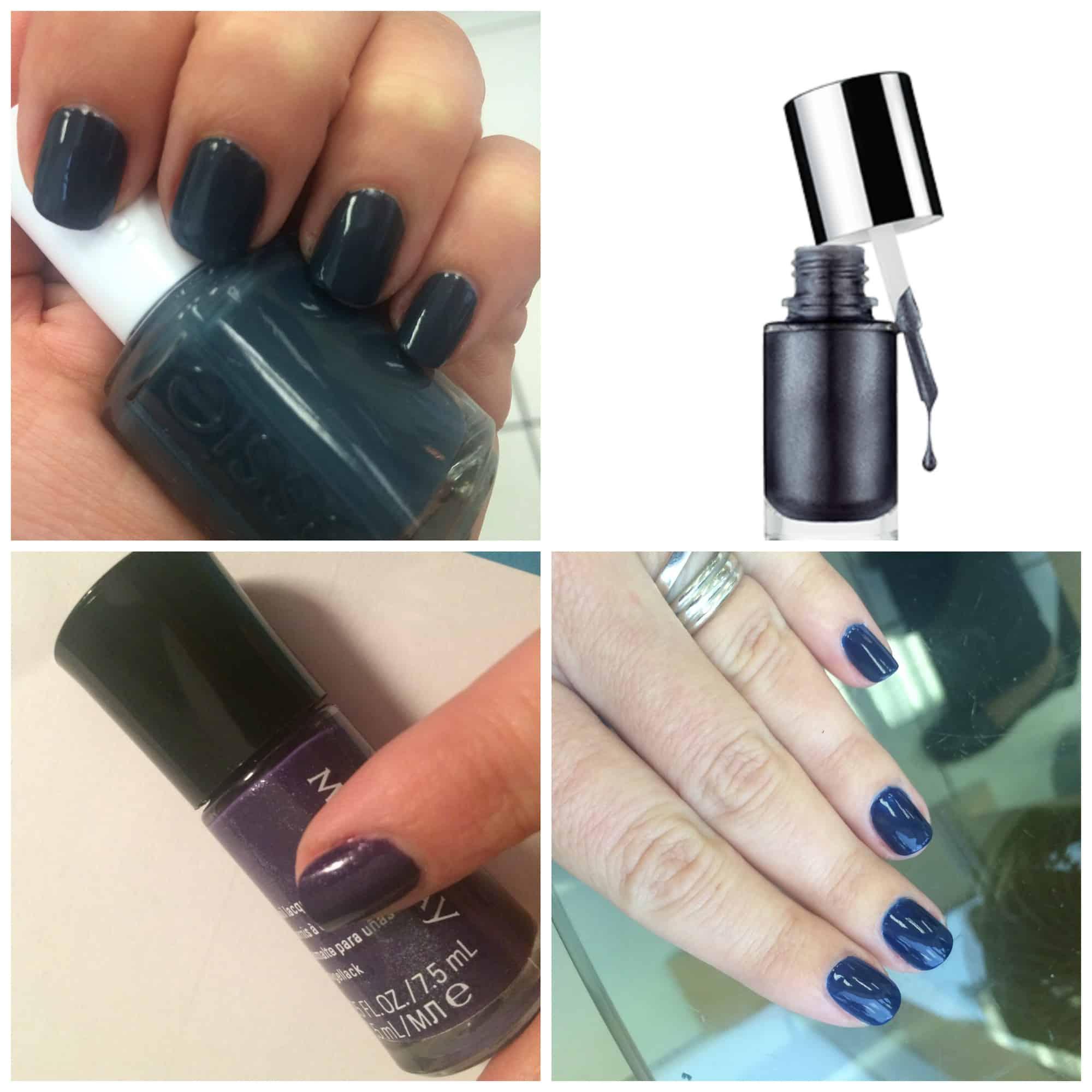 Bellos esmaltes de uñas en tonos oscuros - Hispana Global
