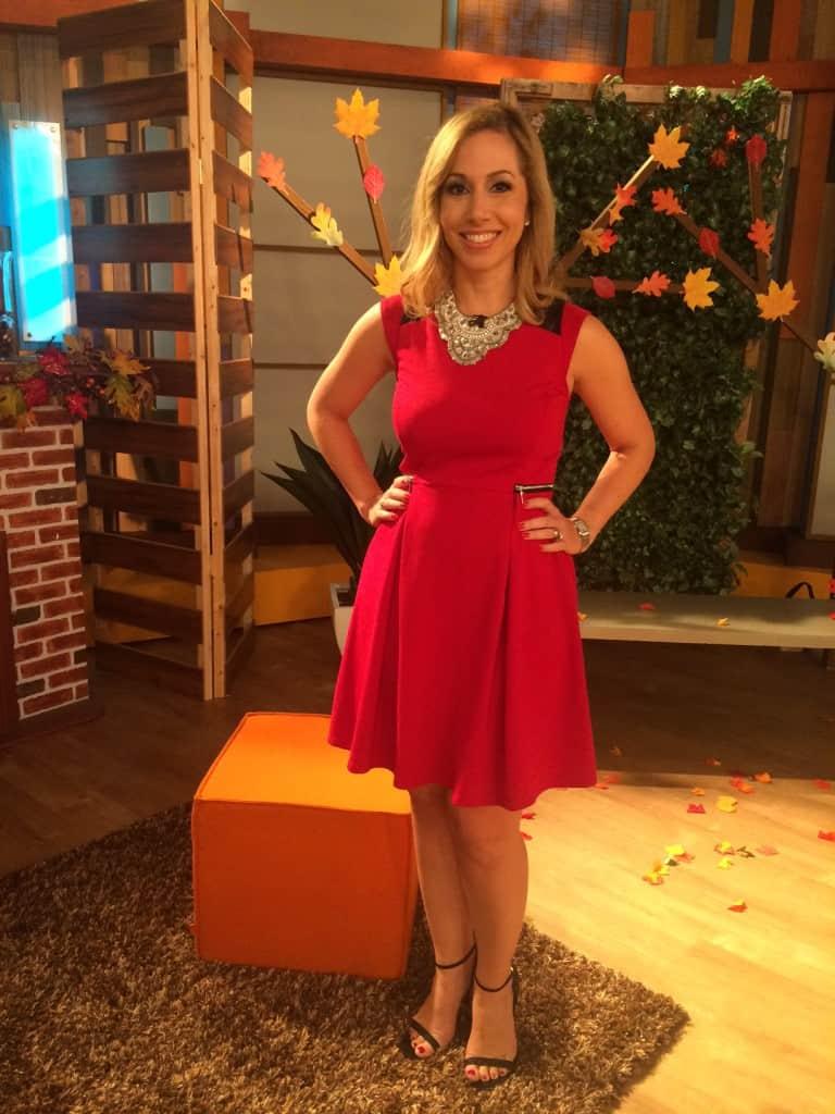 jeannette vestido rojo