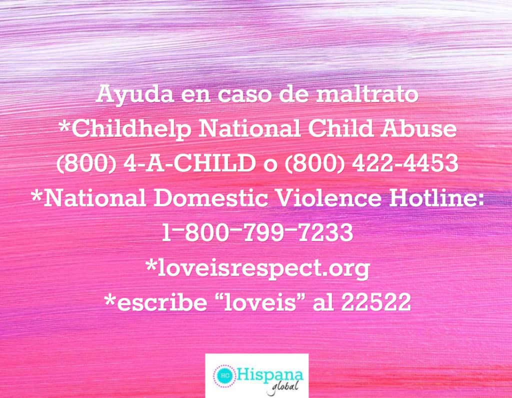 Ayuda en caso de maltrato