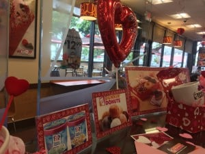 Dunkin Donuts Valentines Day