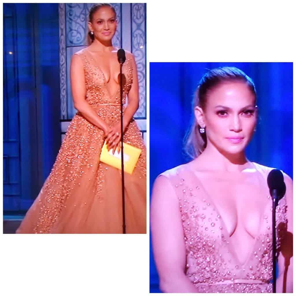 JLo 2015 Oscars