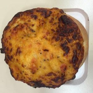 bagel mozzarella tomato dunkin donuts